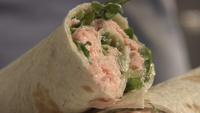 Fishy Fishy Salmon Wrap - Now this is quick!