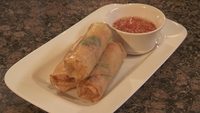 Lobster Spring Rolls - You will get 8-10 spring rolls per lobster.