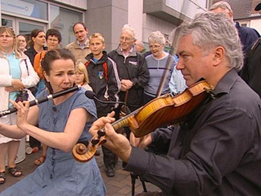 Micheál Ó Dubhcháin, John Shusie Ó Gallchoir & Séamus Mac Aoidh Craobh Chloch Cheann Fhaola Chomhaltas Ceoltóirí Éireann.