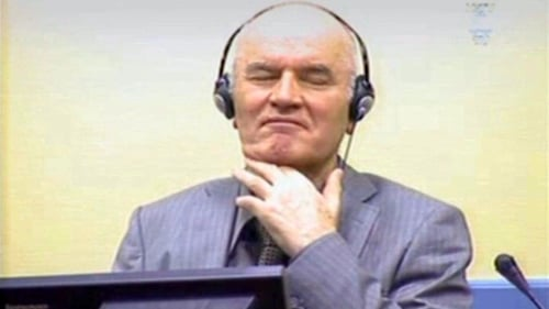 Ratko Mladic - Charged with war crimes