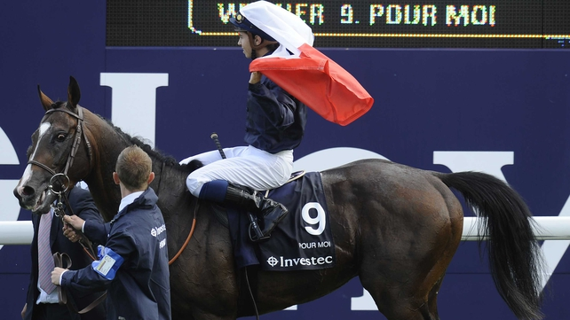 Pour Moi - Gave France its first Epsom Derby winner since 1976