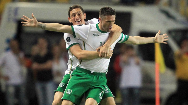 The return game in Macedonia was all about Ireland's record goalscorer