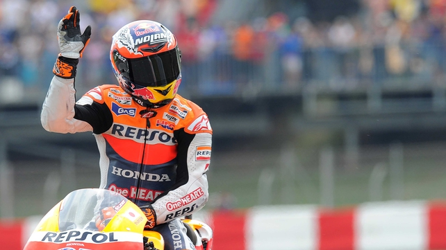 Casey Stoner insist the tests are not a forerunner to a full-time MotoGP return