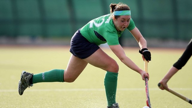 Lisa Jacob scored Ireland's late equaliser in Edinburgh