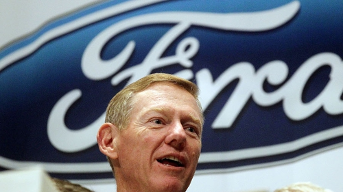 Ford CEO Alan Mulally to step down in July