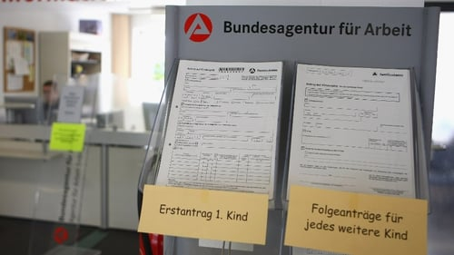 The German unemployment rate stood at 6.4% in June.