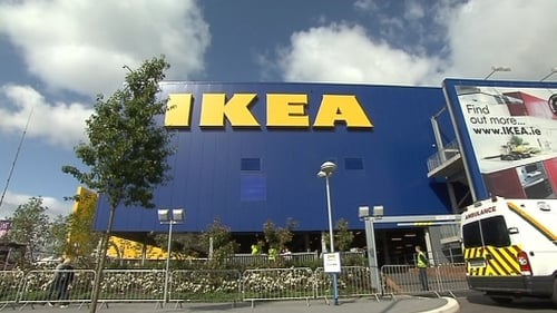 IKEA has two outlets on the island of Ireland