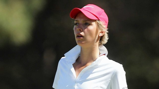Thea Hoffmeister is Victoria Bradshaw's opponent at Royal Portrush