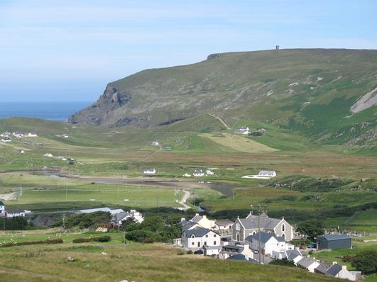 Eunan Mac Cuinneagáin, ó Choiste Forbartha Chill Chartha.