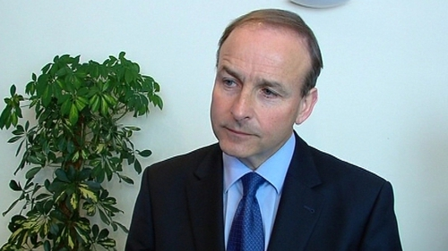 Micheál Martin - Asked the Taoiseach why he had agreed to a weaker text