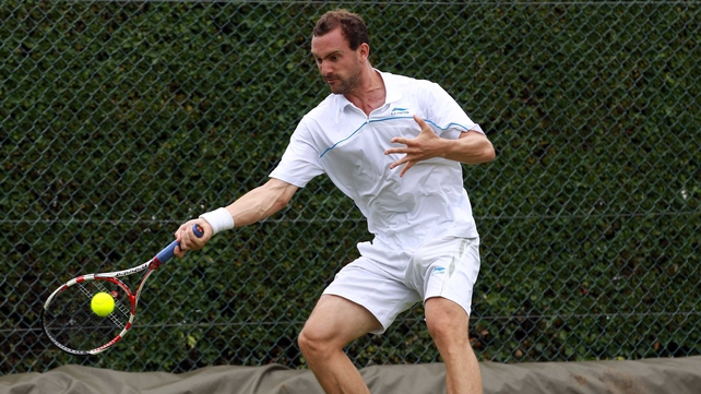 Conor Niland - Has booked his place in the opening round at Wimbledon