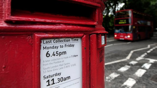 Royal Mail's group revenue rose 2% to £9.46 billion
