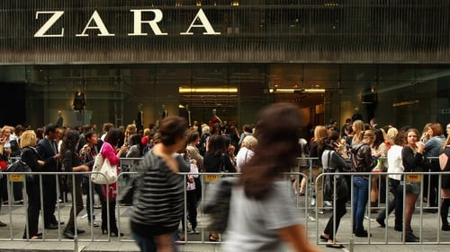 Zara owner Inditex boosted by foreign currency effects