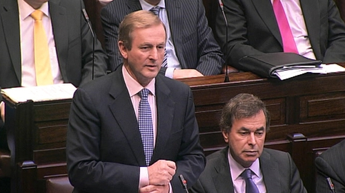 Enda Kenny - Meeting will happen at the 'appropriate time'