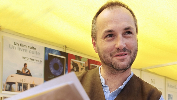 Colum McCann was visiting New Haven ahead of delivering a keynote speech at a local university