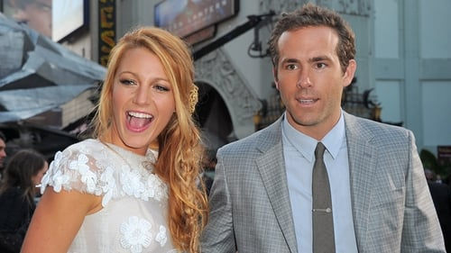 Blake Lively and Ryan Reynolds - Celebrated launch of their blockbuster in Hollywood