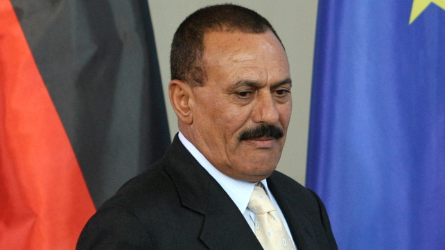 President Ali Abdullah Saleh facing challenge to his rule