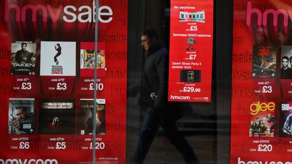 Three HMVs stores to open next week