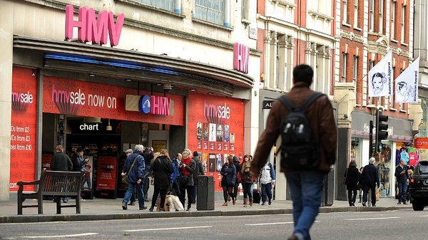 Hilco is seen as the frontrunner to take full control of HMV in Britain