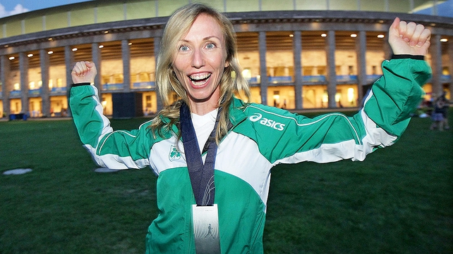 Olive Loughnane is a 20km World Championships silver medallist