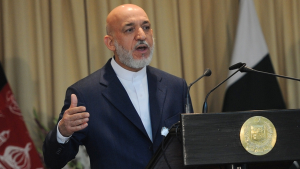 Afghan President - Hamid Karzai