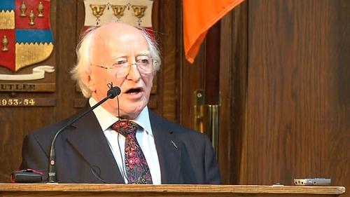 Michael D Higgins - Secures Labour nomination