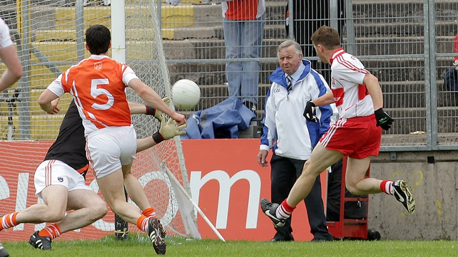 Armagh - Failed to function as a unit in their defeat to Derry