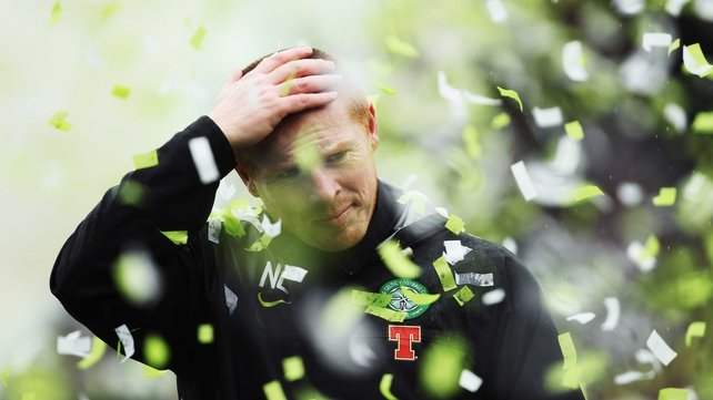 Neil Lennon said he was glad the 'stressful and difficult' ordeal was over