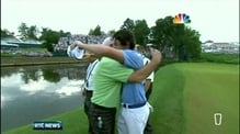 Six One News: McIlroy celebrates 'amazing' victory