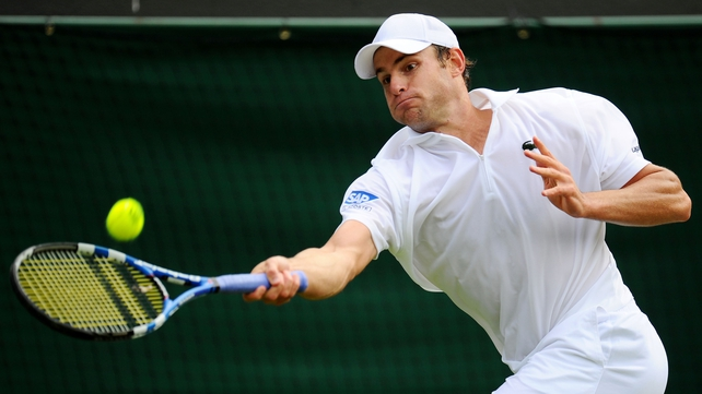 Andy Roddick made short work of the challenge of Rhyne Williams