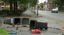 Nine News: Up to 500 involved in east Belfast riots