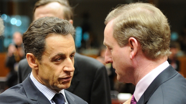 Sarkozy & Kenny - Fianna Fáil wants to see a meeting between the two