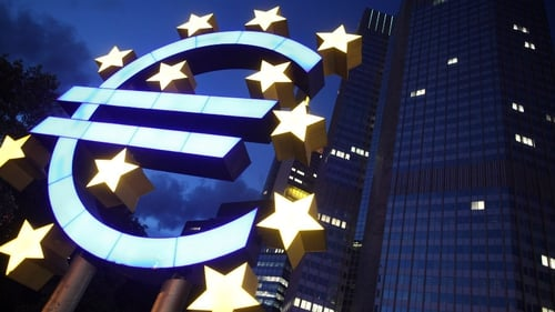 Irish banks' outstanding loans from ECB down to €53 billion from nearly €62 billion in February