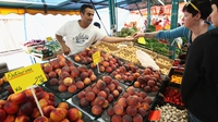 German inflation picks up slightly in July
