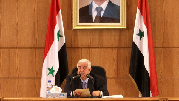 Syrian Foreign Minister - Walid al-Moualem