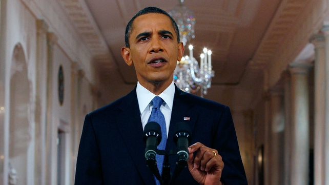 Barack Obama - Aiming to avert risk to US economy