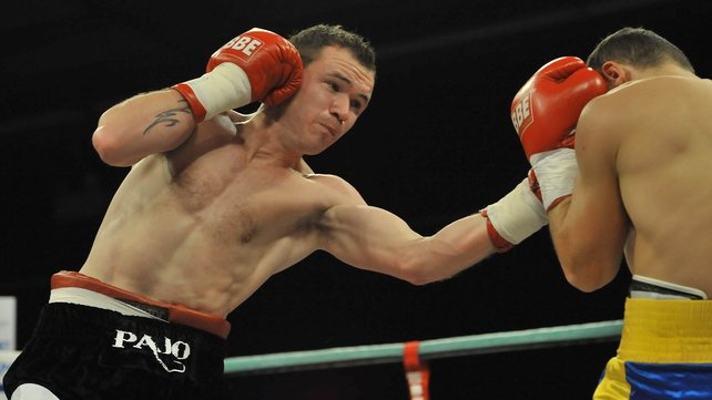 Patrick Hyland can add his name to the list of Irish world boxing champions in Las Vegas on Saturday night
