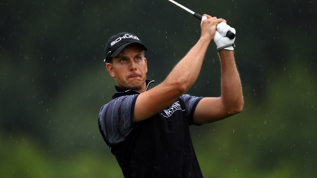 Henrik Stenson is on top at the Tour Championship in Atlanta