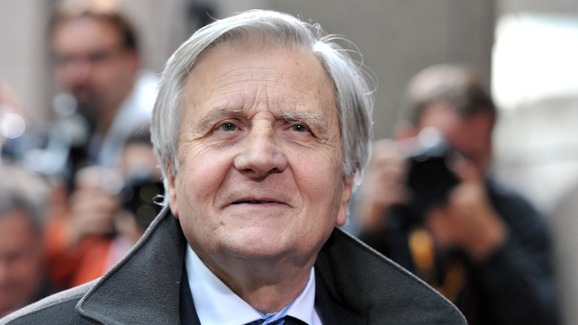 ECB president Jean-Claude Trichet - ECB has been opposed to restructuring Greek debt