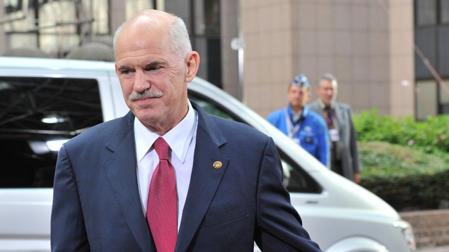 George Papandreou - Greece topping EU agenda