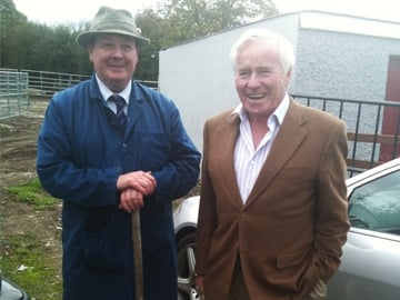 John Sampson and Feargal Quinn