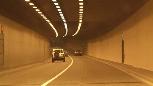 The Jack Lynch Tunnel was closed for a period but has now reopened