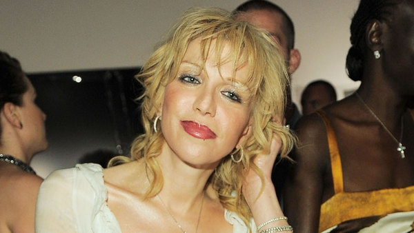 Courtney love's home was damaged in a small fire