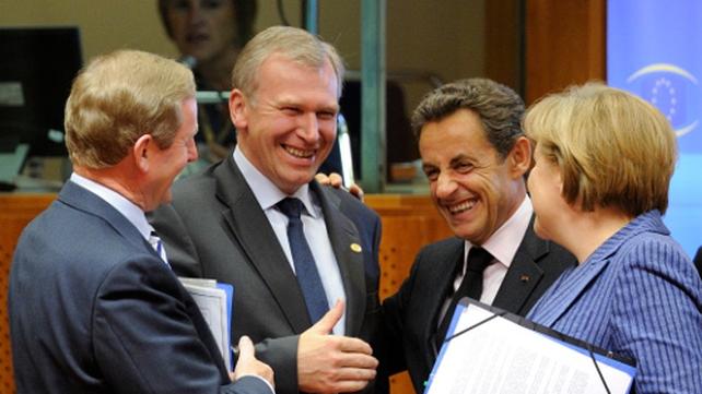 Enda Kenny - Said he had good meeting with Nicolas Sarkozy