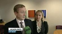 Six One News: Taoiseach hopeful of progress on rate issue