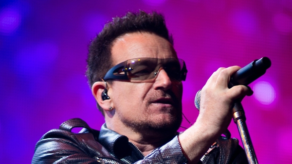 Bono writes about relationship with his dad Brendan Hewson