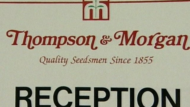 Thompson & Morgan - French halt sales