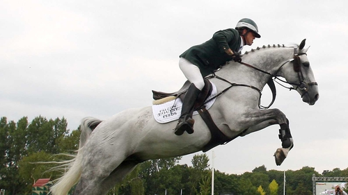 Shane Breen took first place at the Royal Windsor Horse Show