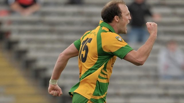 Donegal joy - Colm McFadden celebrates his goal in Clones