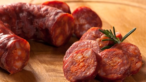 Catherine Fulvio's Slow Cooked Chorizo Chicken with Cannellini Beans